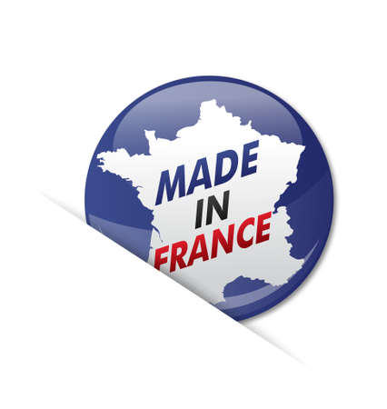 pins   made in france Vector
