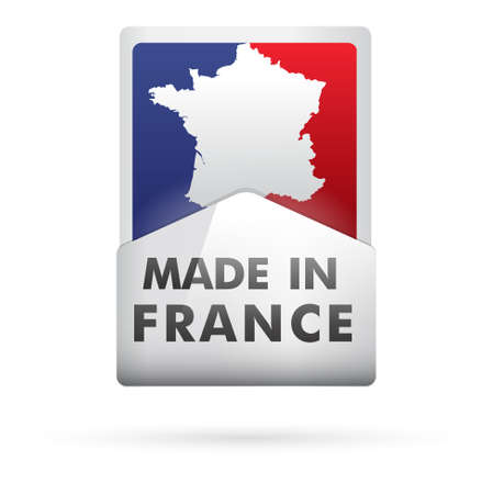 made in france - fabriqué en france Stock Vector - 17285884