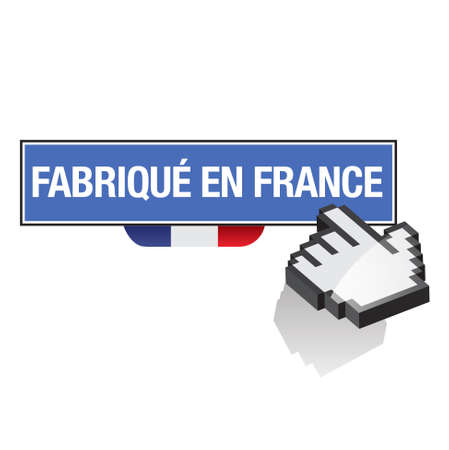 french produce: made in france - fabriqu&eacute, en france