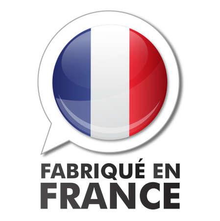 made in france - fabriqué en france Stock Vector - 17285889