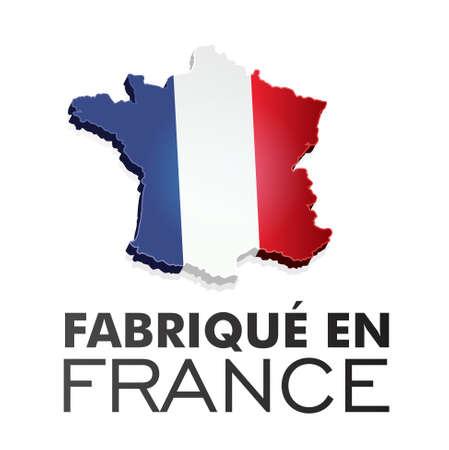 Made in France - fabriqu en France Banque d'images - 17285885