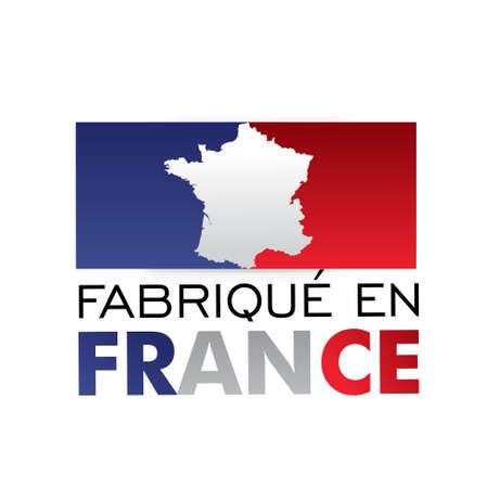 gemaakt in frankrijk - fabriqu en France Vector Illustratie