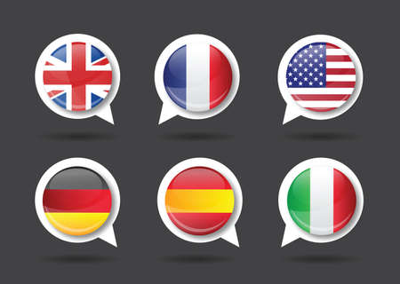 made in germany: flags made in france, germany, spain, italy, usa,