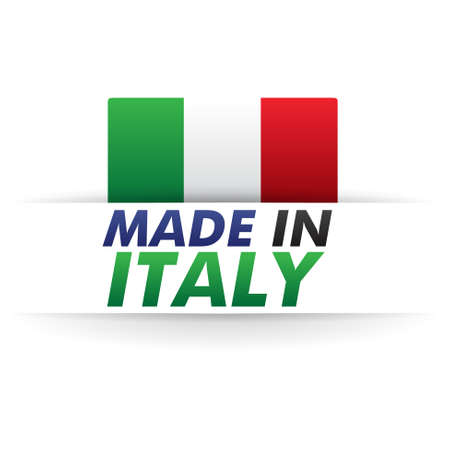 made in italy Stock Vector - 17310399