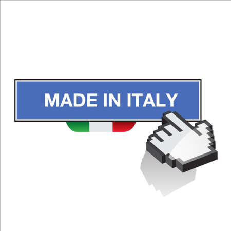 made in italy Stock Vector - 17477399