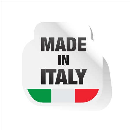 made in italy Stock Vector - 17477397