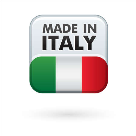 made in italy Stock Vector - 17477395
