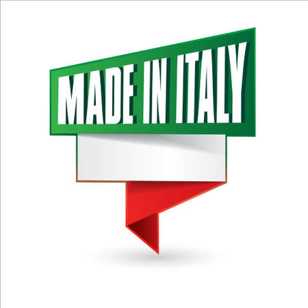 made in italy Stock Vector - 17477384