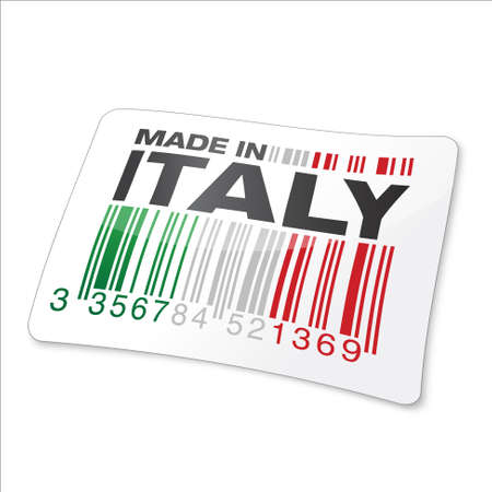 made in italy Stock Vector - 17477383