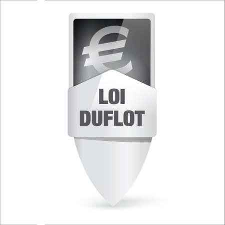 duflot Stock Vector - 17637985