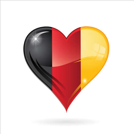 heart   made in germany Stock Vector - 17560726