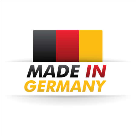 flag   made in germany   Stock Vector - 17560723