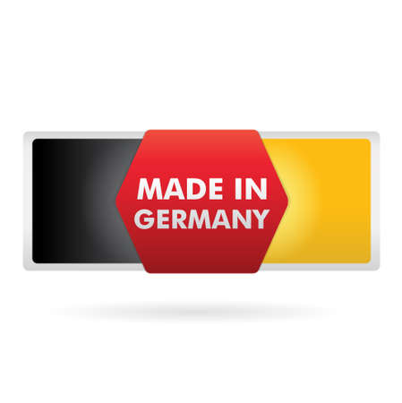 button   made in germany   Stock Vector - 17553919