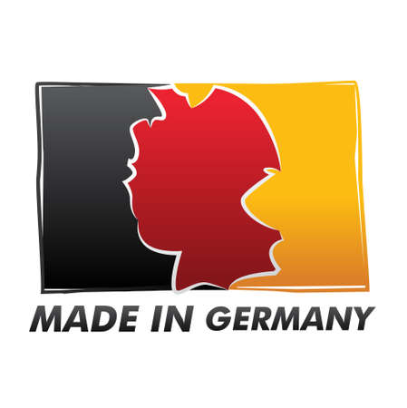 flag   made in germany   Stock Vector - 17553907
