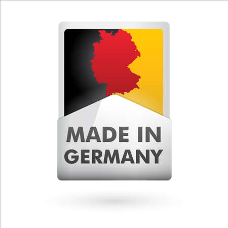 button   made in germany   Stock Vector - 17553938