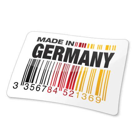 gencode   made in germany Stock Vector - 17553934