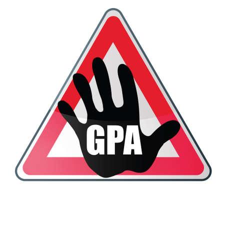 GPA and PMA Stock Vector - 17637987