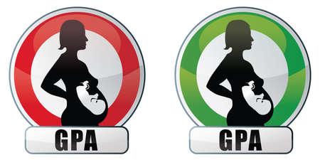 GPA and PMA Stock Vector - 17637993