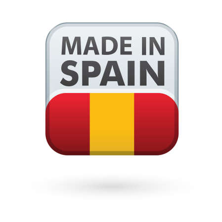 made in spain: sale retail Made in spain Illustration