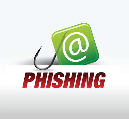 phishing - computer security Vector