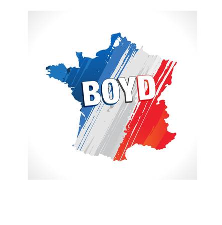BYOD - bring your own devices  france Vector