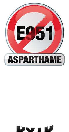 sweetener: asparthame - E951