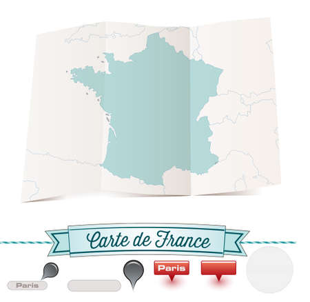 french map - map  france