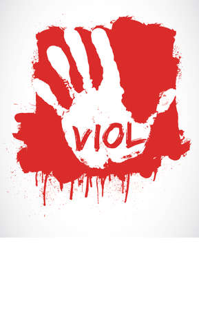 stop rape Vector
