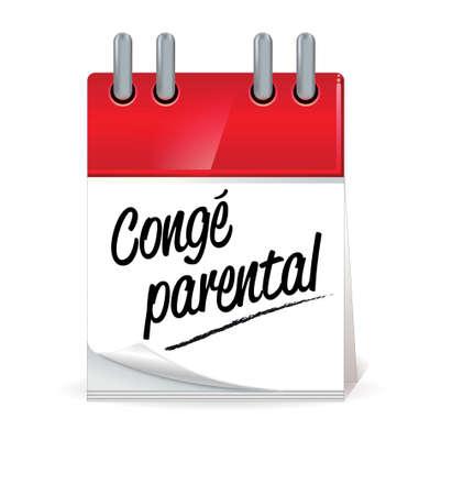 parental: parental leave Illustration
