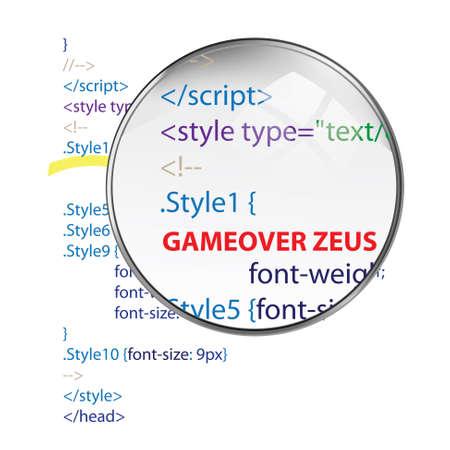 zeus: Zeus virus gameover Illustration