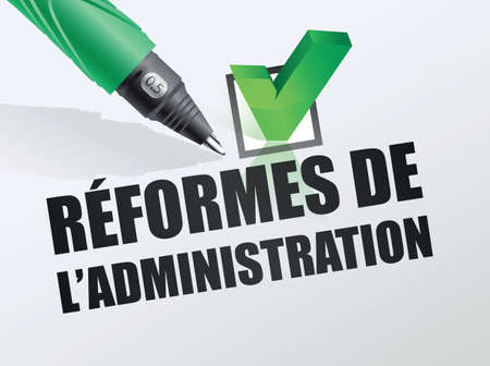 reform: reformss administration Illustration