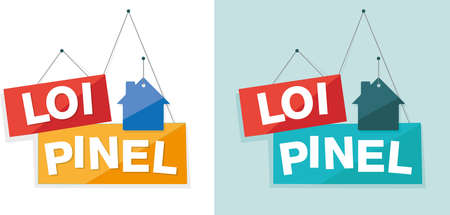 home buyer: pinel law in France Illustration