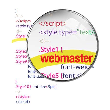 java script: webmaster