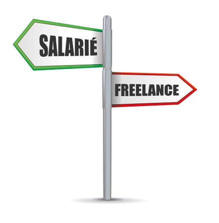 salaried: freelance Illustration