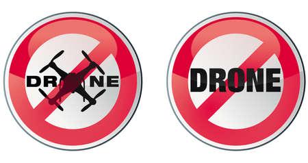 vectorial: drone - no drone