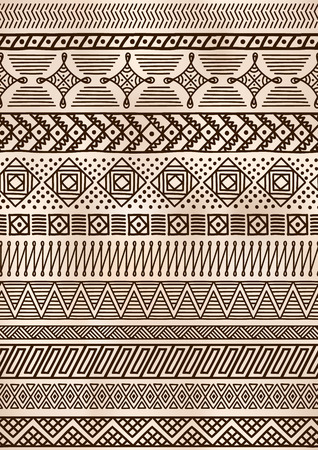 Ethnic seamless pattern. Native pattern for textile design. Vector illustration.