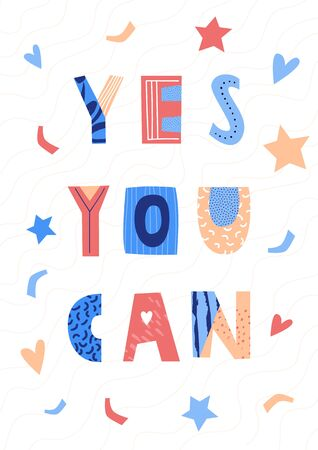 Yes you can lettering poster.