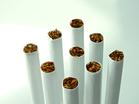 harm: Cigarettes and tobacco products paper nicotine filter habit resin health harm