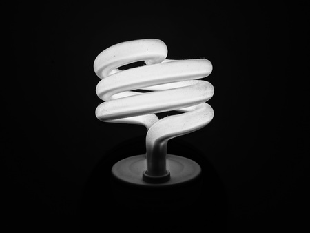 energy consumption: fluorescent light bulb shine spiral energy consumption lamp electricity