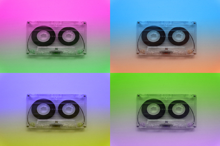 grabadora: Audio cassettes for recorder 80s 90s 70s retro vintage old music time generation music tape wallpaper background style nostalgia song