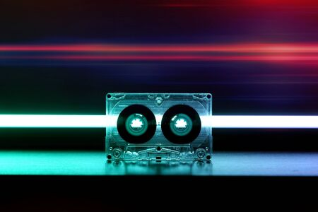 Audio cassette music background wallpaper background cover 70s 80s 90s top effect retro old vintage style modern trend melody nostalgia song music sound party dance
