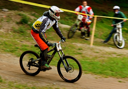 Mountain bikers Stock Photo - 11707721