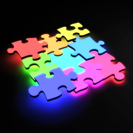 Puzzle Stock Photo - 6180009