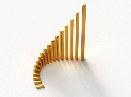 Gold bars Stock Photo - 6180004