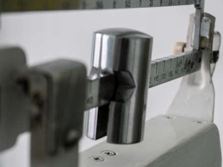 Old Russian vintage weight scales
