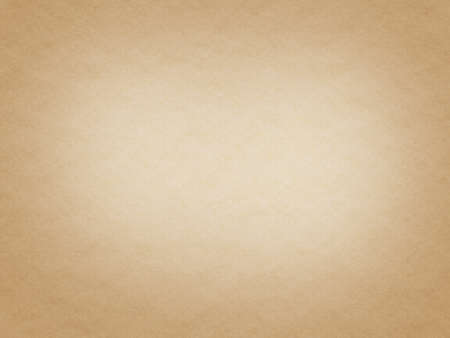 A very simply light brown paper texture with copy space. Stock Photo