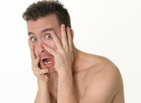 freaked: Man, SHOCKED!