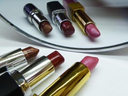 hygenic: Lipstick reflected in mirror