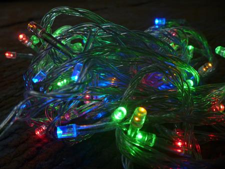 blazes: New years festoon colour light bulb