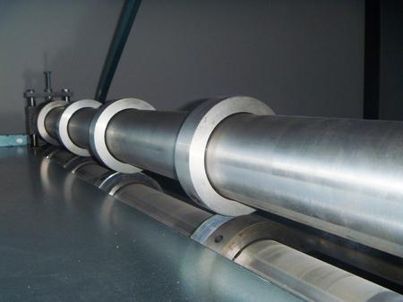transverse: Electromechanic line longitudal and transverse reveal;open sheet metal
